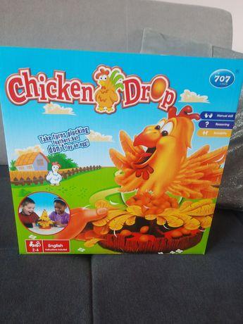Gra kura i spadające jajka
