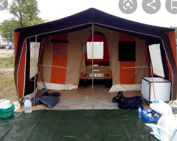 Atrelado tenda em ótimas condições - T2