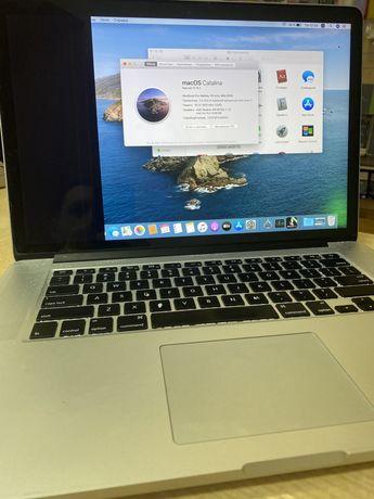 Macbook pro 15 a1398 2015 radeon R9 m370x/16озу/512ssd