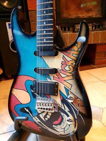 Gitara elektryczna Rockster 1988 Kick Ass - zamienię na perkusję