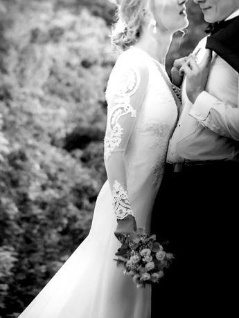 Suknia ślubna Vanilla Sposa długi rękaw
