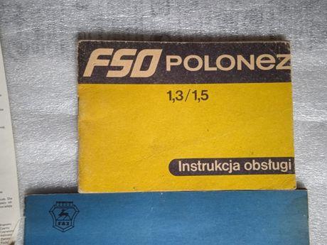 Stare instrukcje FSO Polonez, Fabryka Autobusów Sanok