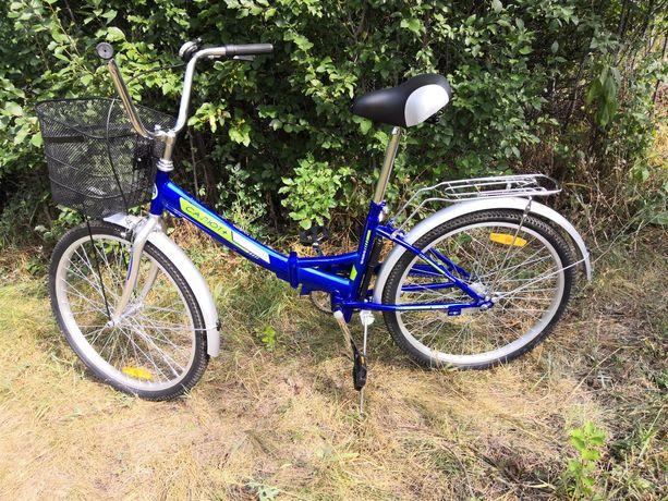 Велосипед салют плюс, складной (новый)