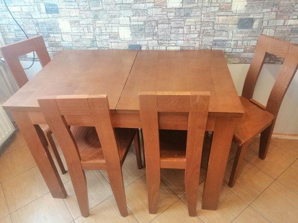 Stół kuchenny +4 krzesła