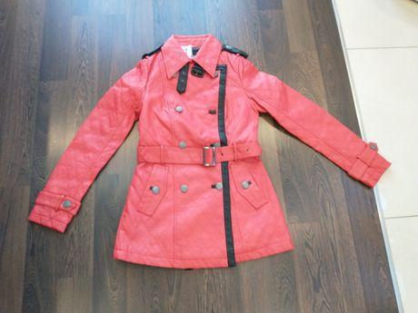 Nowy płaszczyk kurtka Eco skóra damska rozmiar XS