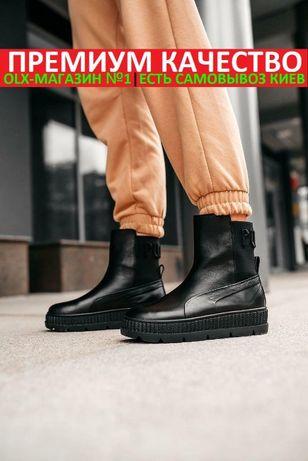 "Кроссовки/ботинки Puma FENTY By Rihanna Chelsea Sneaker Boot ""Black"""