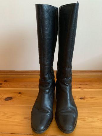 Kozaki wysokie marki Kabala, kolor czarny, rozmiar 38