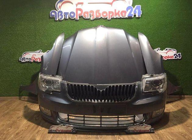 Капот фара бампер Шкода Суперб 2 разборка Skoda Superb шрот запчасти