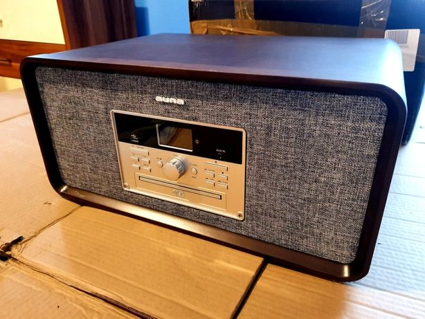 Bella Ann, wieża stereo, gramofon, radio, DAB+