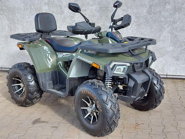 Quad Fourcraft 250cc,  400 km przebieg,gwarancja