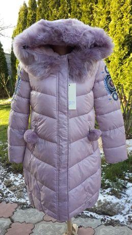 Зимнее женское пальто, куртка, курточка размер M (36), новое.