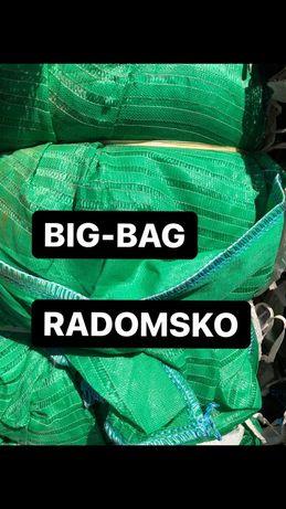 Big bag bagi begi wentylowane raszlowe na ziemniaki