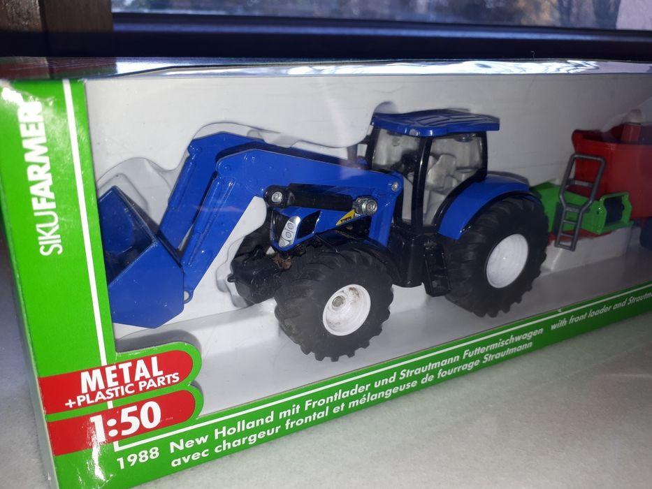 Siku farmer 1988 metalowy traktor farma Konstancin-Jeziorna - image 1