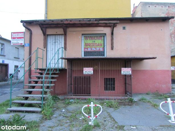 Sprzedam budynek po lokalu handlowym - Żary