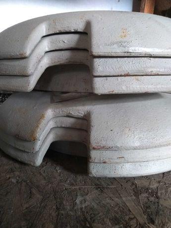 Obciążniki Ursus, Zetor 8 szt.Waga 300 kg
