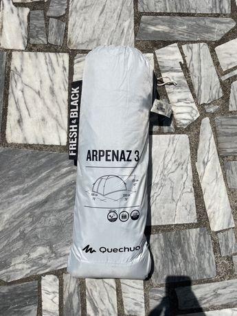 Tenda Quechua Arpenaz 3 Fresh & Black