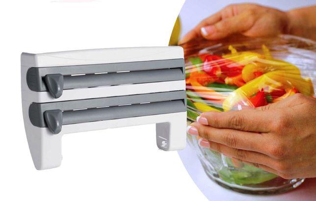 Кухонный диспенсер для фольги и пленки с ножом Kitchen Roll органайзер