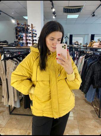 Новая женская объёмная куртка