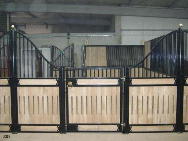 Boks dla konia, boksy dla koni, ściana przednia, front dla konia