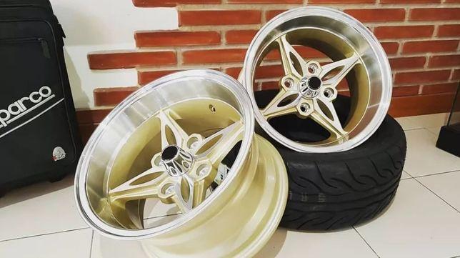 """Jantes 14"""" 8"""" 9"""" 4x114 Toyota AE86 RWD KE25 KE30 Datsun 240Z 260Z R14"""