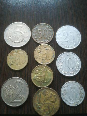 Kolekcja monety Czechosłowacja