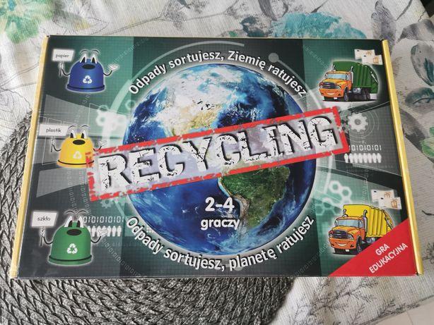Gra edukacyjna Recykling