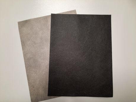 Wigofil,flizelina czarny ,szary szer.160cm