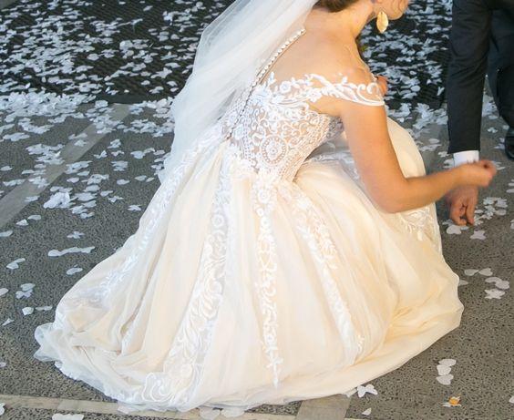 Suknia ślubna Cameron Eva Lendel rozmiar 34