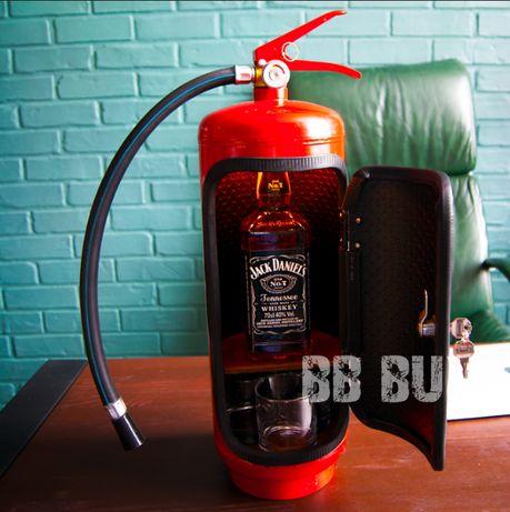 +ПОДСВЕТКА | Огнетушитель бар | с надписью | міні подарок вогнегасник