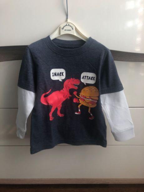 Carter's koszulka z dinozaurem 2T 24M