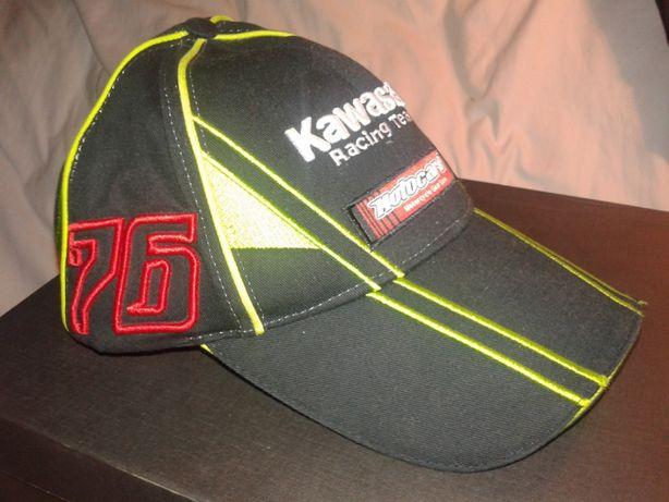 nowa czapka z daszkiem KAWASAKI NINJA 76 racing team motocard 90