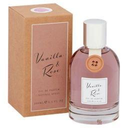 Vanilla & Rose Eau de Parfum Natural Spray Manchester 100 ml