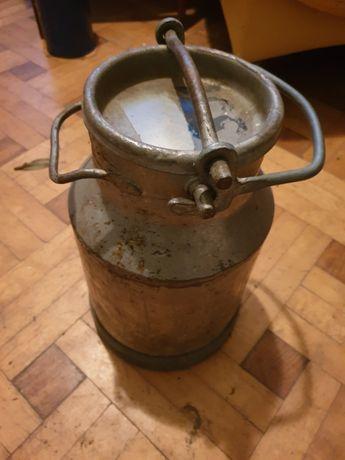 Przedmiot retro bańka na mleko 10 litrowa PRL zabytek stan dobry !