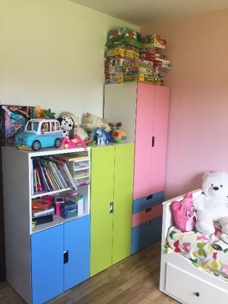 meble - pokój dziewczynki