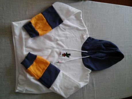 Bluza z kapturem, polarowa.