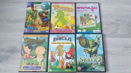 Bajki Franklin Tabaluga Shrek 2 Rumcajs Bolek i Lolek Przytulaki