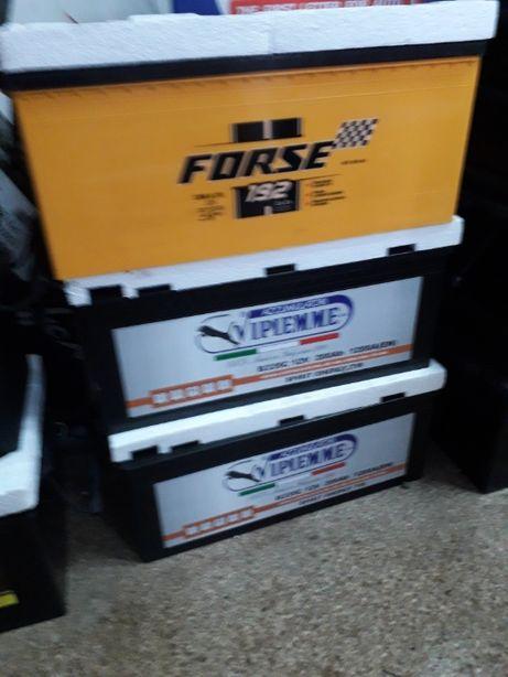 Надійний акумулятор вантажний FORSE 192Ач 12В 1350А 3р гарантії