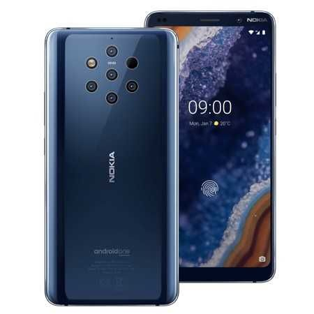 Смартфон Nokia 9 PureView (Snap 845/6 ГБ/128 ГБ/LTE/NFC/3320 мАч)