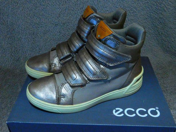 Детские ботинки Ecco 37 размер девочке сапоги оригинал 23,5 см стелька