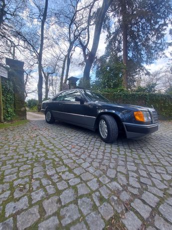 Mercedes w124 300ce 24v caixa manual (dogleg)