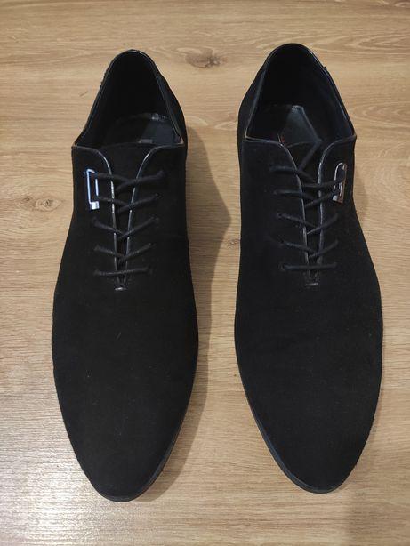 Туфлі замшеві 43р.