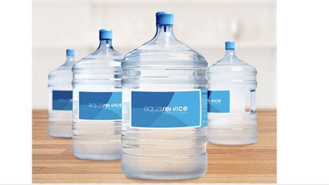 Bidões de água fonte viva, capacidade quase 20L