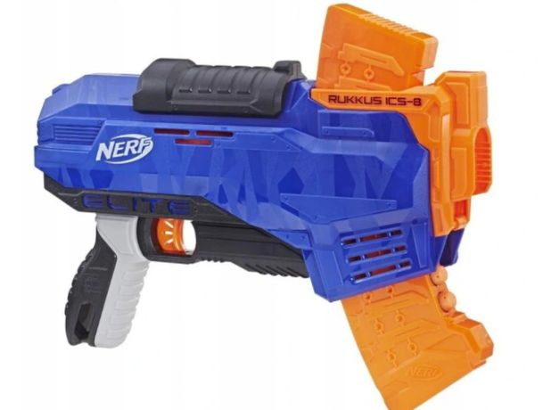 Hasbro Pistolet Nerf N-Strike Elite Rukkus ICS-8