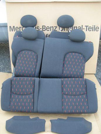 Wnetrze fotel kanapa tapicerka Mercedes C 203 sport coupe