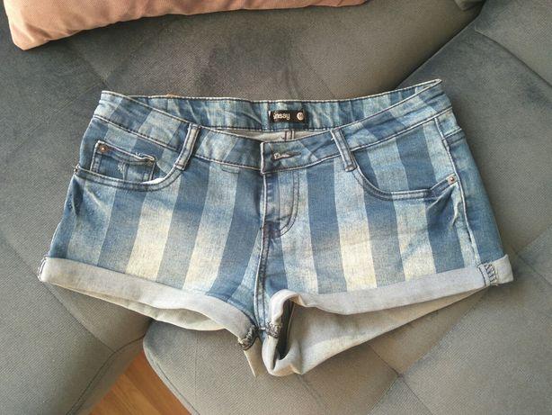Spodnie krótkie szorty Sinsay r. M