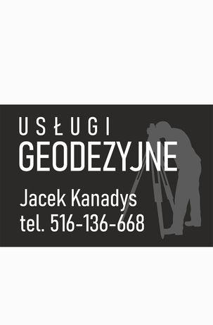 Usługi geodezyjne