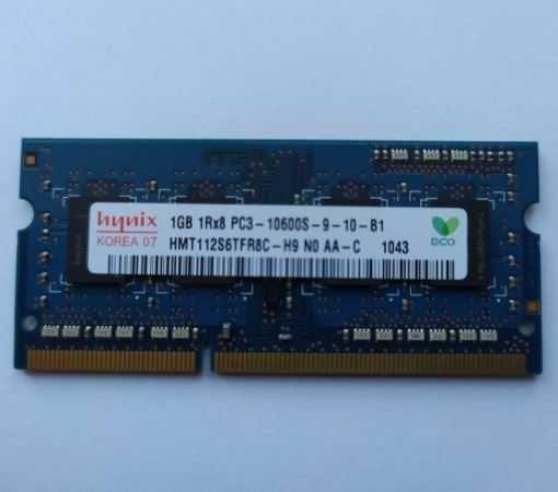 память для ноутбука SODIMM Hynix DDR3 1Gb 1333MHz PC3-10600S