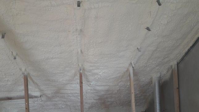 EKO-DOM Ocieplanie poddasza pianą polirutynową 39 zł m2 pur izolacja