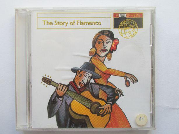 CD - The Story Of Flamenco, como novo, com 17 temas