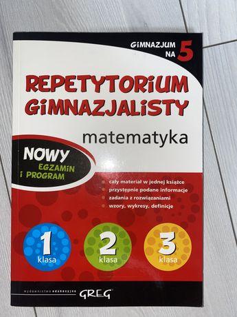 Repetytorium matematyka GREG